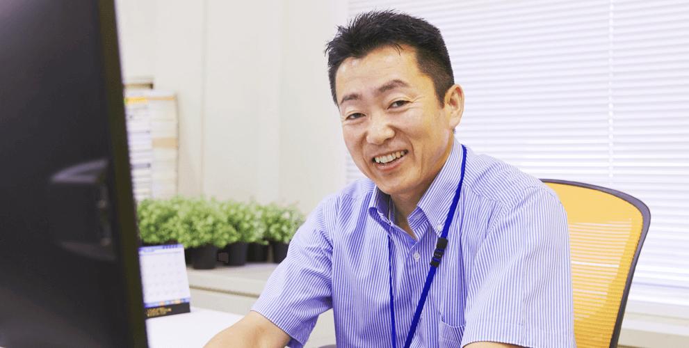 ITサービス本部 鈴木 健司